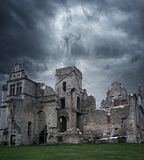 Ruins of old house Royalty Free Stock Images