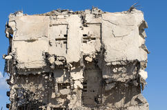 The ruins of the old industrial buildings. Royalty Free Stock Images