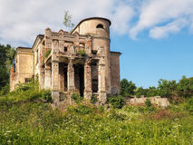 The ruins of the old manor house Stock Photo