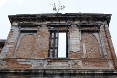 Ruins of old mansion Royalty Free Stock Image