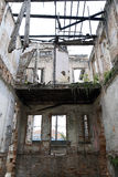Ruins of old mansion Royalty Free Stock Photo
