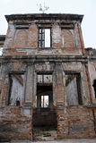 Ruins of old mansion Royalty Free Stock Photos