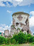 Ruins of old medieval tower Stock Photos