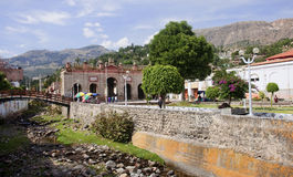 The ruins of the old memorial gates in Ayacucho Stock Images