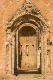 Ruins of old monastery Arača near Novi Bečej. Medieval Romanesque church Arača was built in 13th century, near the city of Novi Bečej in Vojvodina northern Royalty Free Stock Photography