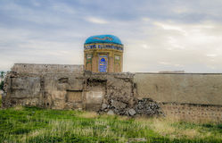 Ruins of old mosque Royalty Free Stock Photos
