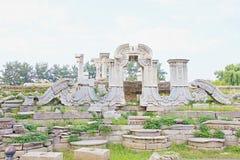 Ruins of old palace Royalty Free Stock Photos