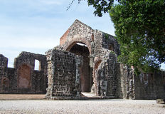 Ruins of Old Panama Stock Photography