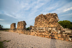 Ruins of Old Panama stock photos