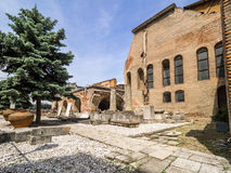Ruins of the Old Princely Court, Bucharest Royalty Free Stock Image
