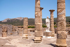 Ruins of old roman city Stock Photos