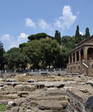 Ruins of old Rome Stock Image