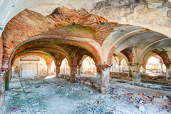 Ruins of old stable Royalty Free Stock Photography