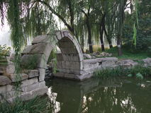 Ruins of Old Summer Palace in Beijing Royalty Free Stock Images
