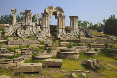 Ruins in the Old Summer Palace Royalty Free Stock Photos