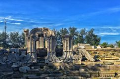 The Ruins royalty free stock photo