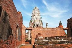 Ruins of old temples Royalty Free Stock Images