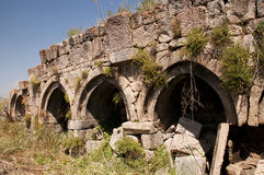 Ruins of old Tsakhats Kar Monastery, Armenia Stock Images