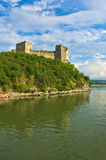 Ruins of old turkish fortress Ram near Danube river Royalty Free Stock Images