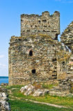 Ruins of old turkish fortress Ram by the river Danube Royalty Free Stock Photography