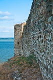 Ruins of old turkish fortress Ram by the river Danube Royalty Free Stock Photos