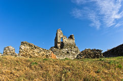 Ruins of old turkish fortress Ram by the river Danube Stock Photo