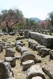 The Ruins of Olympia, Greece Stock Photography