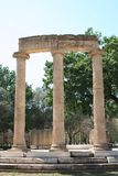 The Ruins of Olympia, Greece Royalty Free Stock Photos