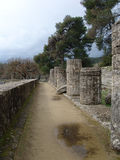 Ruins of Olympia, Greece Stock Photography
