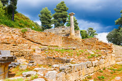 Ruins in Olympia, Greece Royalty Free Stock Image