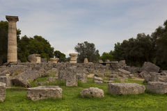 Ruins of Olympia Royalty Free Stock Image