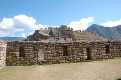 Ruins On Machu-picchu 1 Royalty Free Stock Images