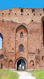 Ruins of Ordensburg castle (Radzyn Chelminski, Poland) Royalty Free Stock Images