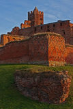 Ruins of Ordensburg castle Stock Photography