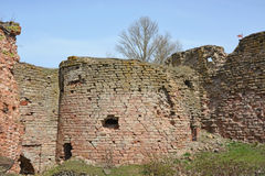 Ruins. Oreshek fortress in Shlisselburg Royalty Free Stock Photo