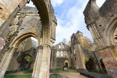 Ruins of Orval Stock Photography