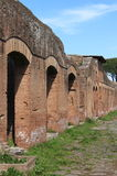 Ruins in Ostia Antica Royalty Free Stock Photos