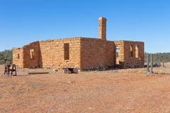 Ruins in outback Australia. Royalty Free Stock Photography