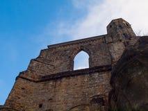 Ruins of Oybin monastery Royalty Free Stock Image
