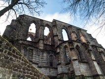 Ruins of Oybin monastery Stock Image