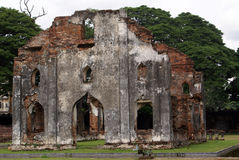 Ruins in palace Stock Photos