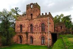 Ruins of Palace of Empress Mentewab , Fasil Ghebbi site , Gonder Royalty Free Stock Images