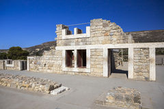 The ruins of the palace of Knossos Royalty Free Stock Photo