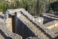 The ruins of the palace of Knossos Royalty Free Stock Photos