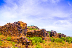 Ruins of a palace Royalty Free Stock Photography