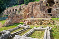 Ruins at the Palatine Hill in Rome Royalty Free Stock Images