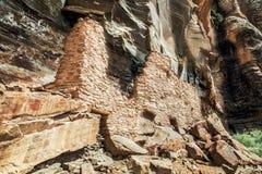 Ruins at Palatki near Sedona, Arizona Royalty Free Stock Image