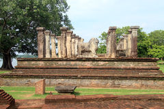Ruins of palce Royalty Free Stock Photos