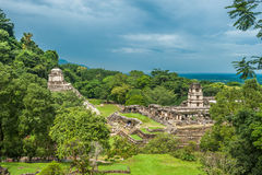 Ruins of Palenque, Mexico Royalty Free Stock Images
