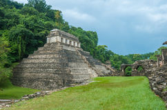 Ruins of Palenque, Mexico Royalty Free Stock Photo